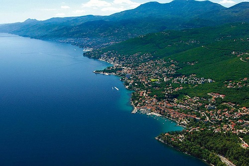 The town of Opatija