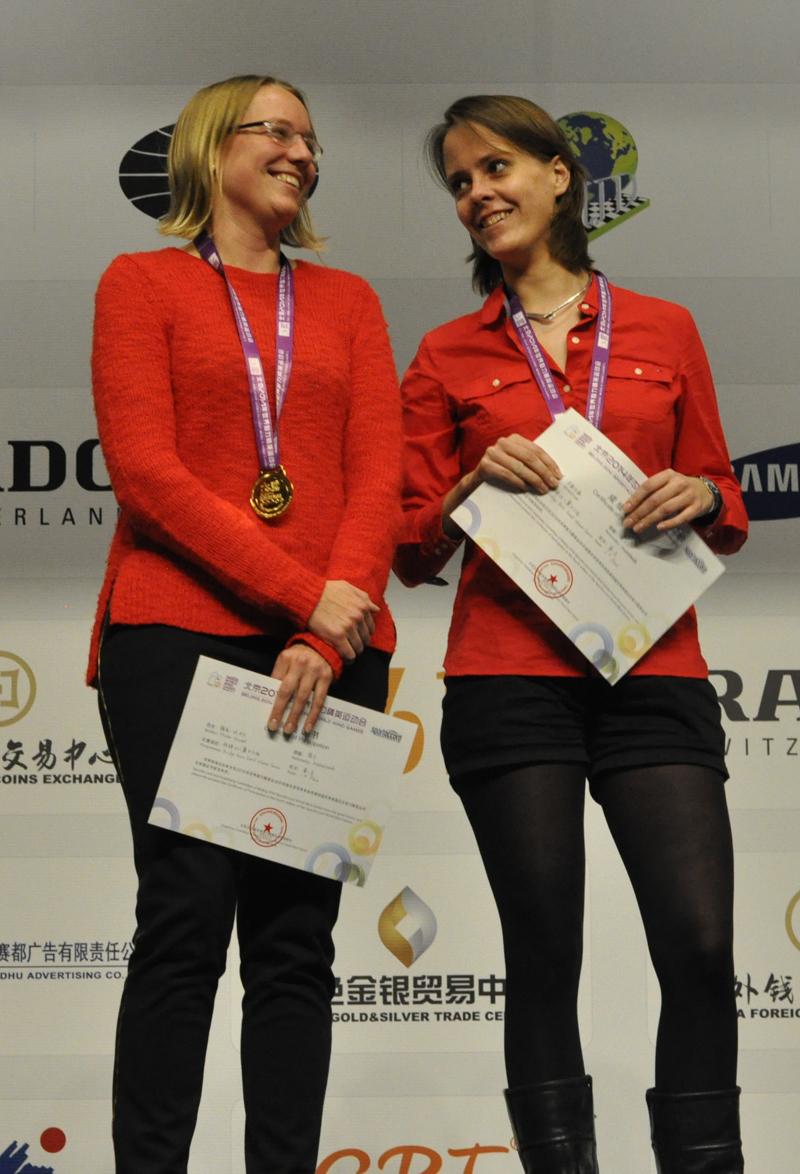 Women Pairs Winners